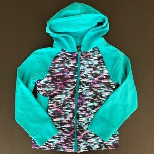 Champion hoodie girls teal S 6/6x